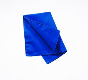 BLUE POETRY TABLE MAT