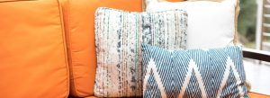 cleaning non-removable cushion covers
