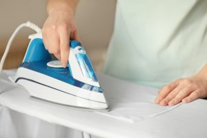 cushion covers ironing