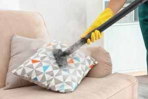 steam cleaning cushion covers