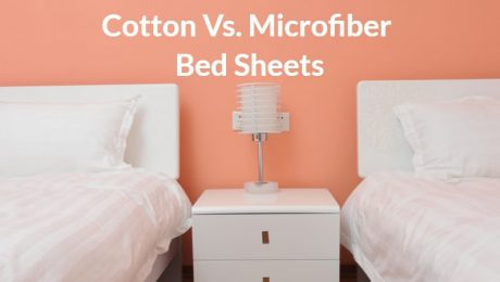 cotton vs. microfiber bed sheets