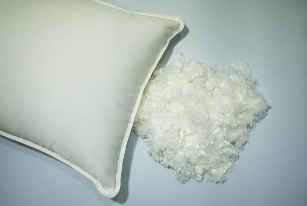 down alternative (polyfill) pillows