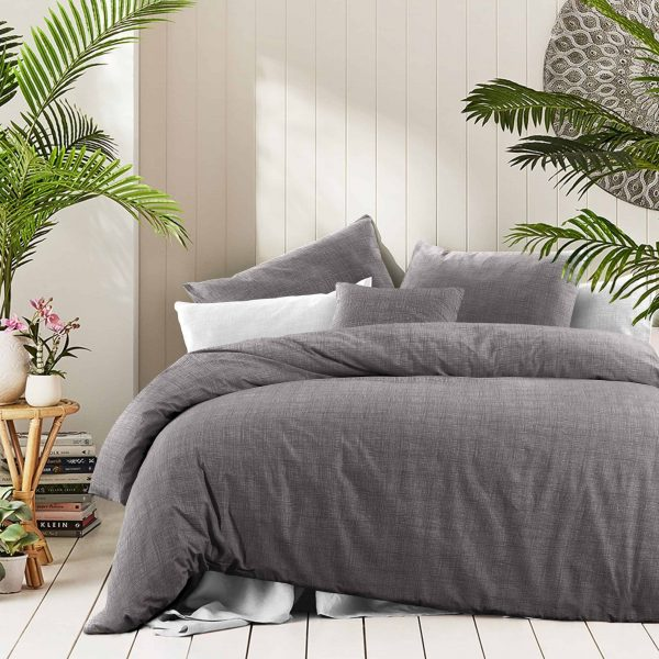 Fossil Textured Print Quilt Covers & Quilt Cover Sets